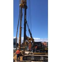 Buy cheap KR125M Borehole Pile Drilling Rigs Equipment, CFA Construction Method Pile Driving Machinery product