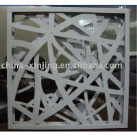 Quality Metal Perforation Ramdom Crossing CNC Wall Panel(CE,ISO9001) for sale