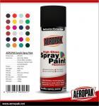 Buy cheap AEROPAK handy spray Acrylic fast dry high glossy 400ml aerosol Spray Paints product