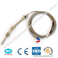Buy cheap Thread M6 Screw Probe Temperature Sensor K J Type Thermocouple For PID Controller product