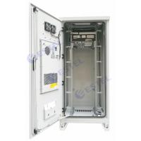 Buy cheap Air Conditioner Type Outdoor Rack Mount Enclosure 40U Weatherproof With Emerson from wholesalers