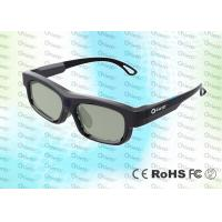 Buy cheap IR Technology Rechargeable Cinema Use Adult 3D Glasses For Digital Cinema product