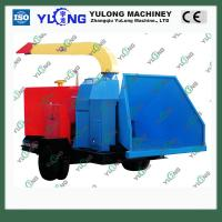Buy cheap 10-20tons/h mobile wood chipping shredder machine product
