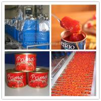 Complete Tin Can Ketchup Tomato Paste Production Line 1 Year Warranty for sale