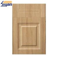 Buy cheap Thermofoil Replacement Pvc Kitchen Cabinet Doors With MDF Fiberboard product