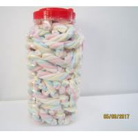 Buy cheap Rope Shape Twisted Marshmallow Candy , Gourmet Marshmallow/ Healthy sweet product