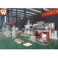 Buy cheap Small Cattle Poultry Pellet Feed Plant With Electronic Control System 1-2T/H product