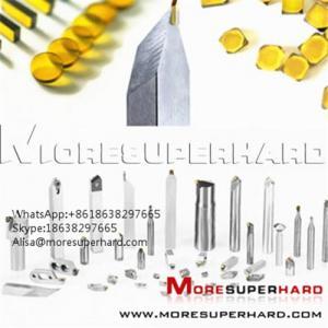 Buy cheap HPHT Mono Crystal Diamond Plates Alisa@moresuperhard.com product