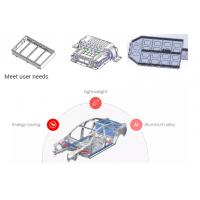 Buy cheap Durable Aluminium Auto Parts Battery Tray Automatic Robot Welding Station product