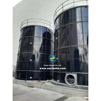 Buy cheap Leachate Storage Glass Fused Steel Tanks With AWWA D103 / EN ISO28765 Standard product