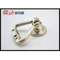 Buy cheap Shakeable Wine Cabinet Ring Pulls , Brushed Satin Nickel / Zinc Alloy / Brass Ring Pull from wholesalers