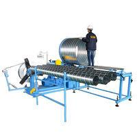 Buy cheap Spiral flexible aluminum duct making manufacture machine from wholesalers