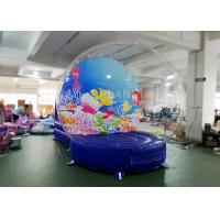 Buy cheap Safety Inflatable Bubble Tent / Inflatable Snow Globe 0.65 Mm PVC Tarpaulin product