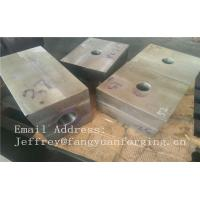 Buy cheap SA182 F316 F304 SForged Steel Products Forgings Block Solution Milled And Drilling product