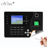 Buy cheap TCP / IP Communication Biometric Time Attendance Machine RFID Card Reader product