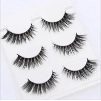 Buy cheap 3D Mink lashes handmade premium mink hair false Eyelashes full strip product