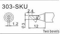 Buy cheap Quick 303-SKU soldering iron tips for Quick 303/303B soldering station Quick Welding Bit product