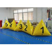 Buy cheap Advertising Waterproof Inflatable Marker Buoy Yellow Color 2 Years Warranty product