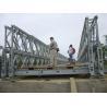 Buy cheap DD Double Double Type Steel Bailey Bridge , Modular Expansion Joints Bridges product
