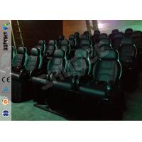 Quality Game 7D Movie Theater With Motion Seats And Safe Package Used For Theme Park for sale
