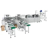 Buy cheap Automatic 3ply Surgical Mask Disposable Non Woven Making Machine from wholesalers