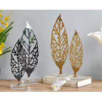 Buy cheap Custom Leaf Shape Shop Window Displays Accessories Artwork Display Stand product