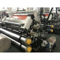 Corrugated Cardboard Produtcion Line 280A Oil Electric Heating Exchange Single Facer for sale