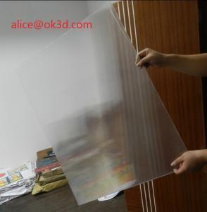 Buy cheap 120x240cm 20 LPI 3 mm lenticular board for FLIP lenticular effect  on digital printer or UV flatbed printer product