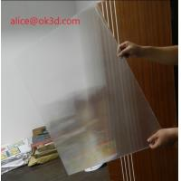 Buy cheap OK3D 3d lenticular printing sheets 25 lpi 4mm 3d lenticular sheet lenticular plates materials with lenticular effects product
