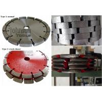 Buy cheap Crack Chasing Tuck Point Diamond Blades , Diamond Cutting Saw Blade 125mm 180mm 300mm product