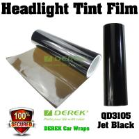 Buy cheap Car Headlight Tint Film 3 layers 0.3*10m/roll - Jet Black product