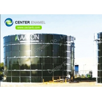 Buy cheap AWWA D103-09 Standards Stainless Steel Bulk Storage Silos For Food Processing And Milling Factory product