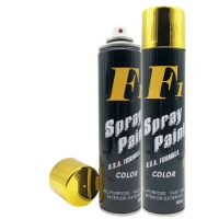 Buy cheap Bright Gold Metallic Electro Plated Aerosol Spray Paint product