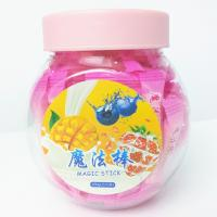 Buy cheap Pink Magic Stick Healthy Hard Candy , 4g Strawberry Hard Candy product