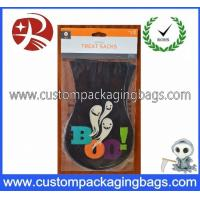 Buy cheap Colorful Environmental Plastic Treat Bags Custom Thickness For Halloween Party product