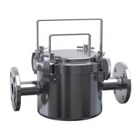Buy cheap SS304/SS316L JTGCX Magnetic Fluid Filter Sanitary Filter Housing for Ice cream, Milk Filtering product