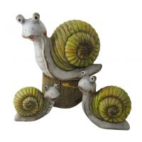 Buy cheap Caroon Snail Garden Ornaments , Animal Garden Ornaments OEM Acceptable from wholesalers