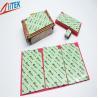 Buy cheap 2.0 W/mK Ultrasoft CPU Heatsink Pad , Green Thermal Silicone Pads TIF100-20-07E thermal gap filler 45 Shore 00 product