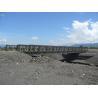 Buy cheap Easy Install Modular Steel Bridges SS Single Single Type Bailey Truss Bridge product