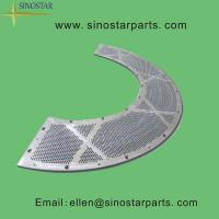 Buy cheap paper pulp drilled screen plate product
