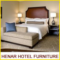Buy cheap Hampton Inn 5 Star Wooden Hotel Bedroom Furniture King size Brown Upholstered product