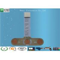Buy cheap 3 Key FPC Capacitive Touch Circuit , Waterproof Flexible Membrane Switch Professional product