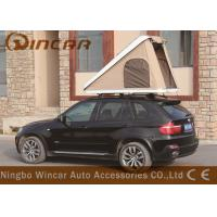 Buy cheap Triangle Hard Shell Fiberglass Automatic Roof Top Tent , Roof Rack Pop Up Tent product