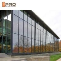 Buy cheap Construction Customized Aluminium Curtain Wall Tempered Laminated Insulated Glass product