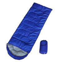 Quality Envelope Ultralight Sleeping Bag / Comfortable Sleeping BagsWith Fibre Filling for sale