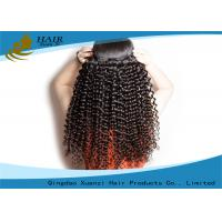 Buy cheap Unprocessed Virgin Brazilian Hair Extension 100g Kinky Curl Human Hair Weft from wholesalers