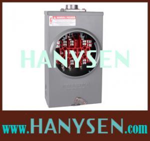 China Hanysen 600V- 20A ,100A ,125A ,200A -13J ,4J,5J,Square meter sockets on sale