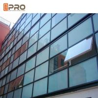 Buy cheap Exterior Structural Insulated Glass Curtain Wall Double Glazed Window product