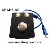 Buy cheap Waterproof Industrial Trackball Mouse Electroplated Black Stainless Steel from wholesalers