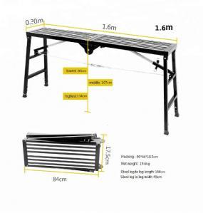 Buy cheap Multipurpose Folding Aluminum Platform Compact Ladder Stools Structure product